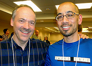 Will Shortz and Jeff Chen